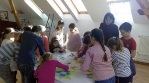 Kisiskolások hagyományos téli játszóháza 2020 3. nap