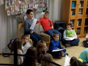 Kisiskolások hagyományos téli játszóháza 2020 4. nap